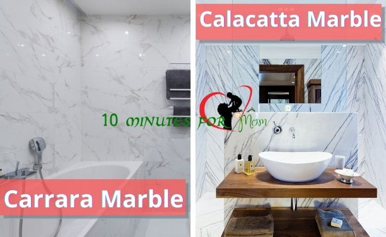 Carrara & Calacatta Marble difference