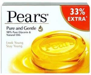 pears Pure and Gentle Soap Bar -10minutesformom