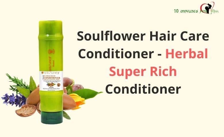 Soulflower Hair Care Conditioner - Herbal Super Rich Conditioner