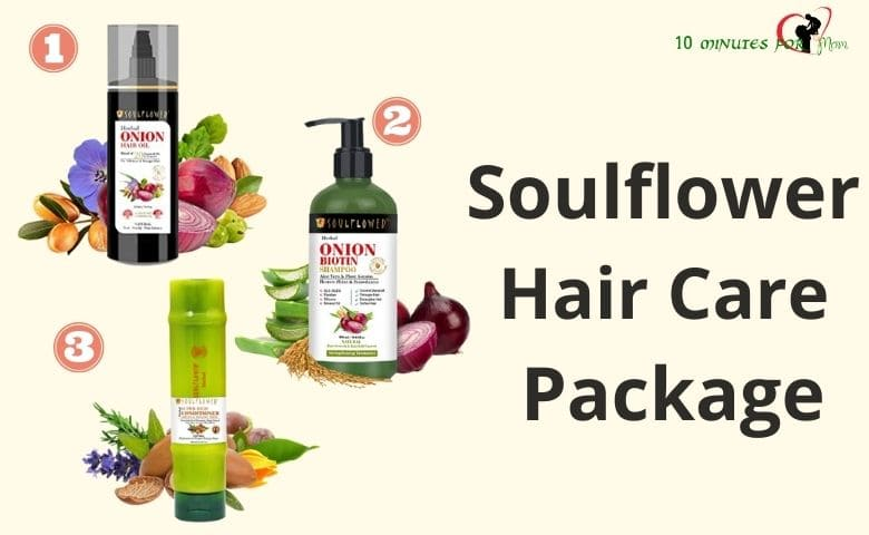 Soulflower Hair Care Package