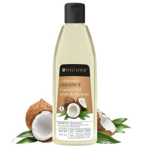 Soulflower Cold Pressed Coconut Oil Review