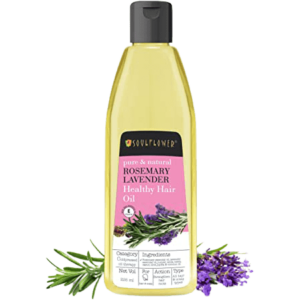 Soulflower Rosemary Lavender Healthy Hair Oil Review