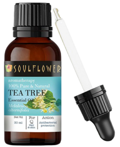 Soulflower Tea Tree Essential Oil Review