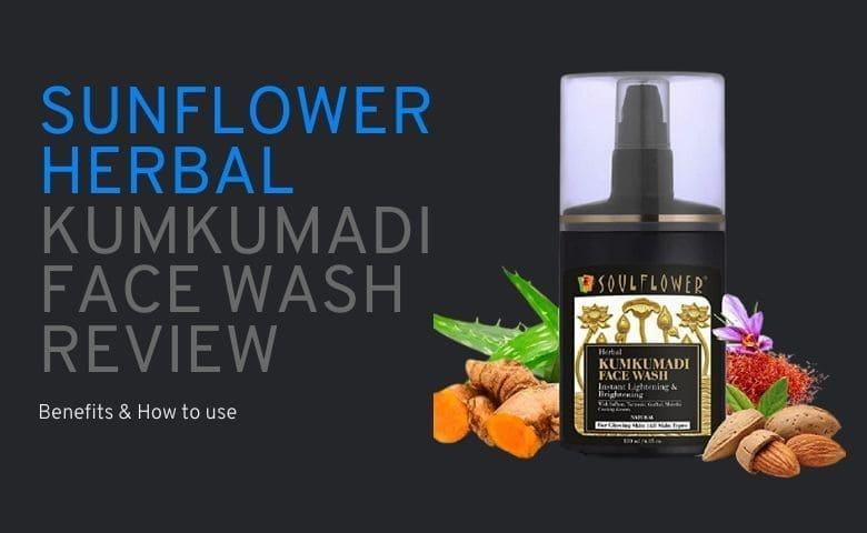 Soulflower Herbal Kumkumadi Face Wash