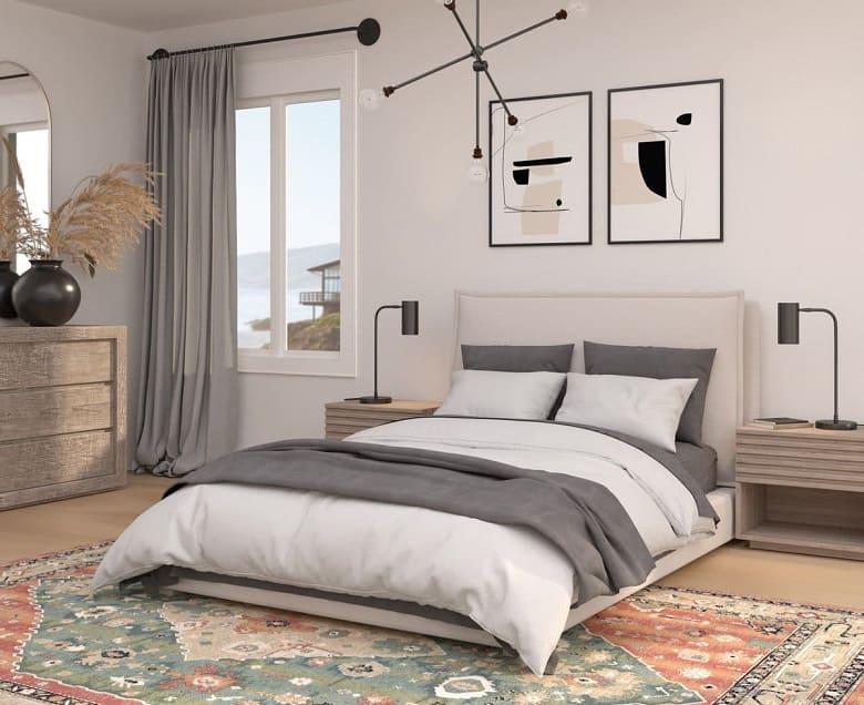 Try Modern and Simplicity - Bedroom desigin ideas