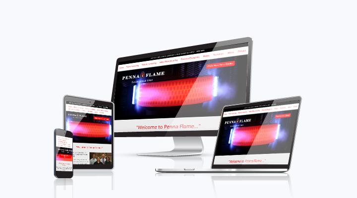 Media Frogg website example