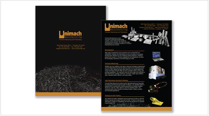 Media Frogg flyer/brochure example