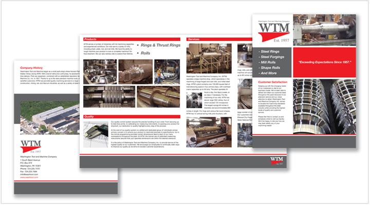 Media Frogg Brochure design