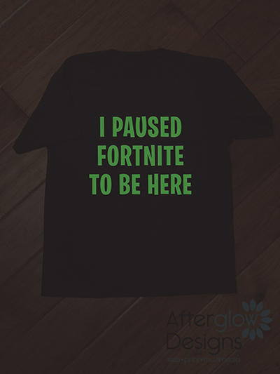 I Paused Fortnite to be Here