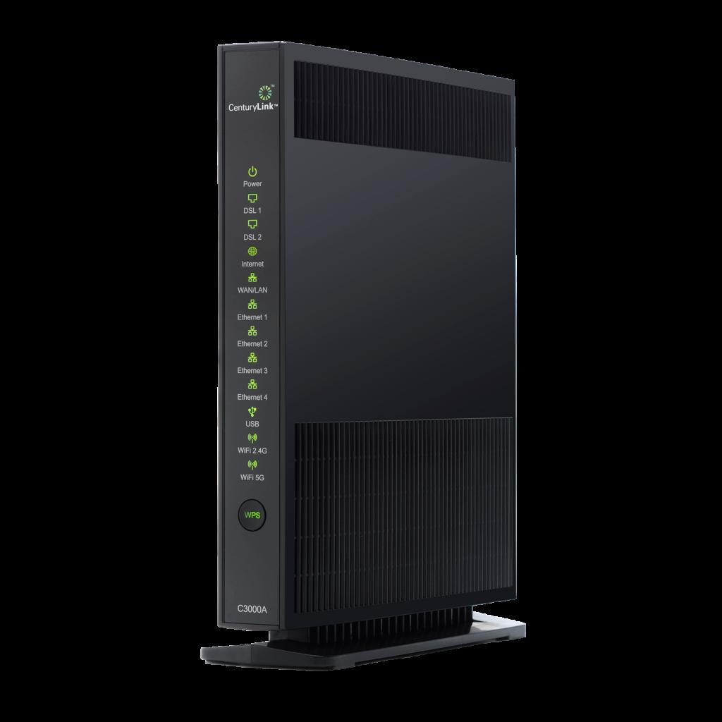 centurylink c3000a modem router