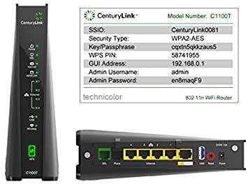 Technicolor C1100T modem/WiFi router