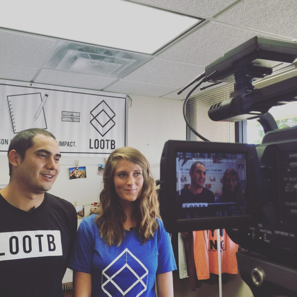 Quinn Button and Jonathon Button Interviewing for Life Out of the Box