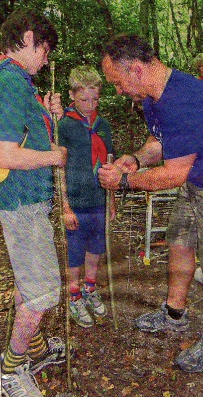 1st Broseley Scouts on Open Day