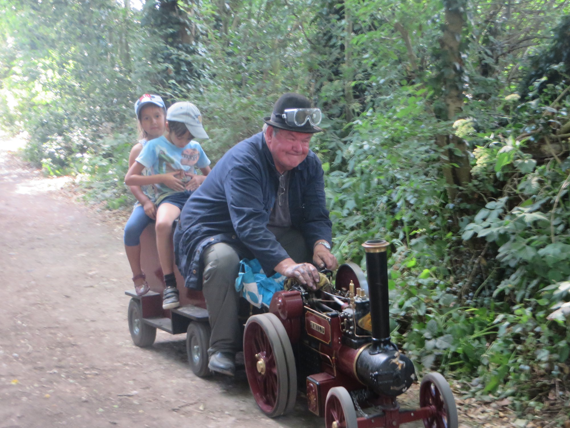 Traction Engine Rides