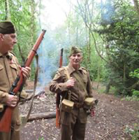The Home Guard on Patrol