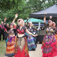 The Severn Sisters Belly dancers