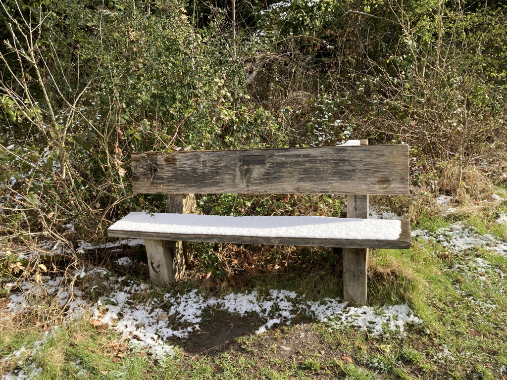 The Heather Patch Bench