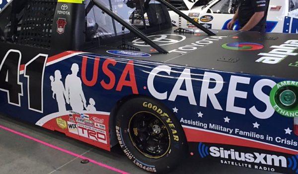 BR NCWTS CMS USA Cares Truck Close