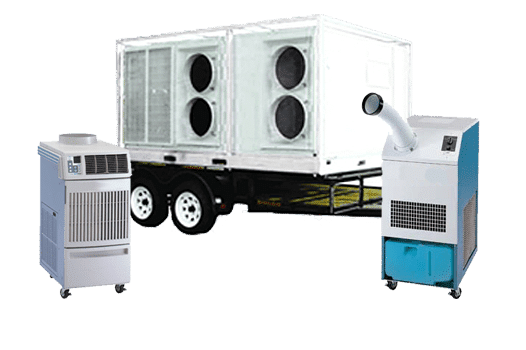 HVAC equipment rental products