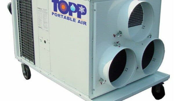 mobile cooling for industrial works
