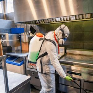 commercial sanitizer services