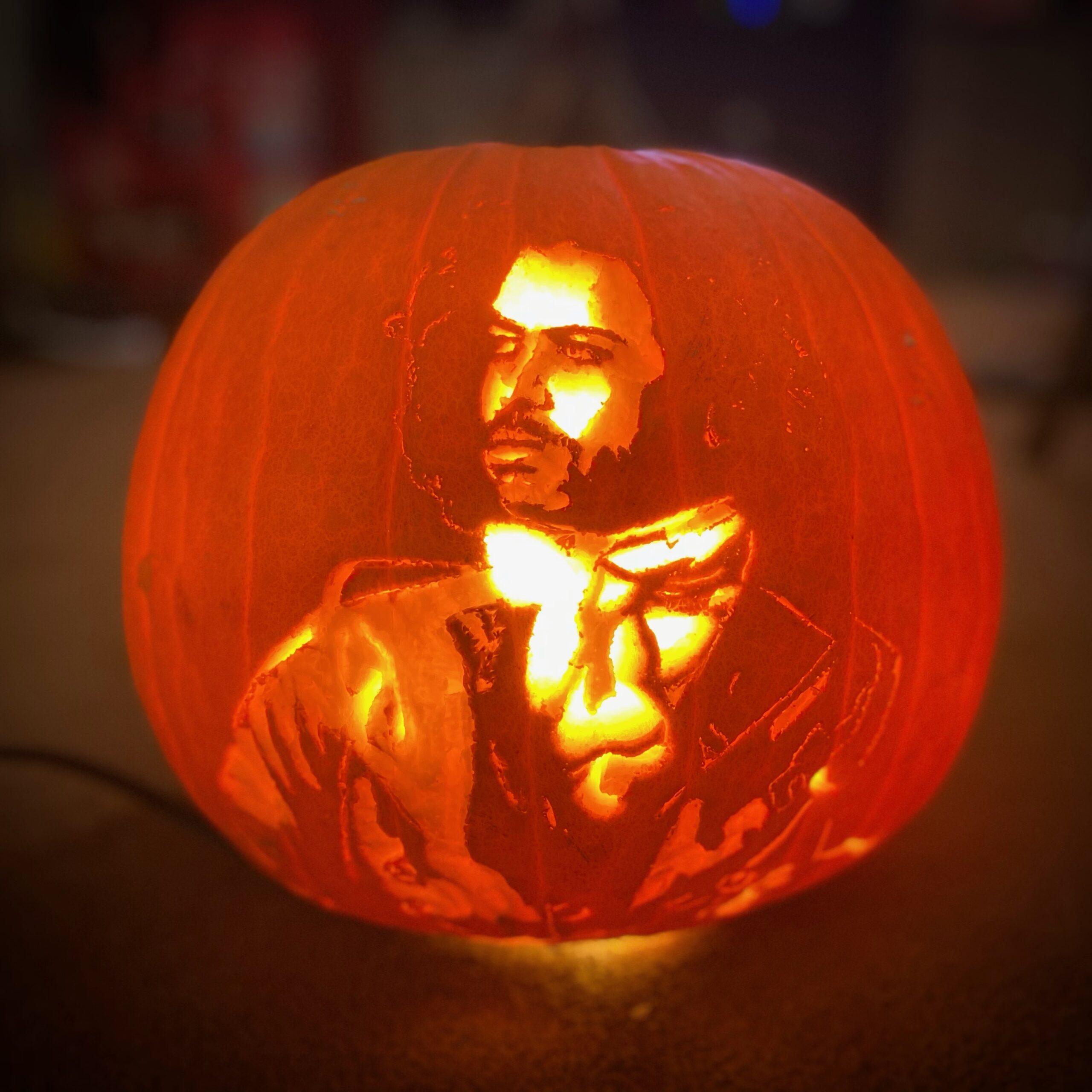 Daveed Diggs Pumpkin Carving