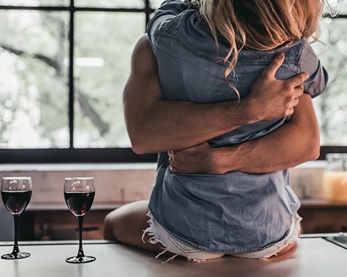 Couple enjoying Sex during Covid-19 Lockdown