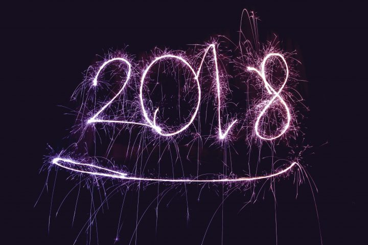 We're excited for 2018! Let's get it started!