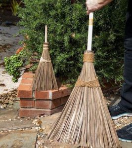 The Ultimate Coconut Garden Broom is perfect for all year outdoor maintenance.