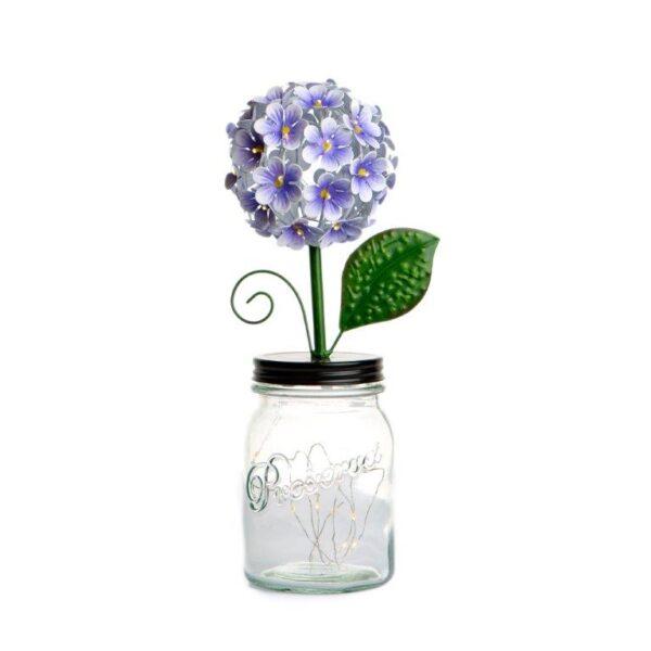 LED Purple Hydrangea by ShopDePalma