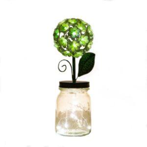 LED White Hydrangea by ShopDePalma