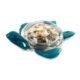 Ultimate Innovations Glass Tabletop Turtle Aqua