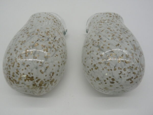 Set of 2 Blown Glass Wall Vases by Ultimate Innovations