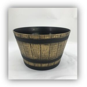 Set of 2 Whiskey Barrel Planters by Ultimate Innovations