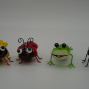 Set of Four Magnetic Garden Friends by Ultimate Innovations
