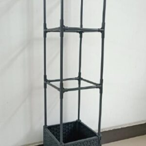 "10"" Self-Watering Planter with Trellis by Ultimate Innovations"