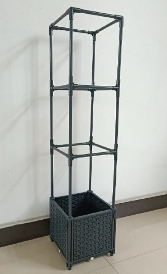 """10"""" Self-Watering Planter with Trellis by Ultimate Innovations"""