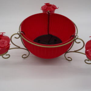Hanging Planter and 3 Bird Feeders by Ultimate Innovations