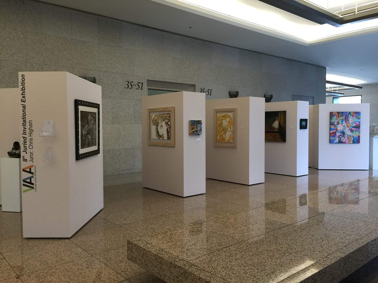 Visual Arts Alliance VAA 8th Juried Invitational Exhibition with Marcy Ann Villafana