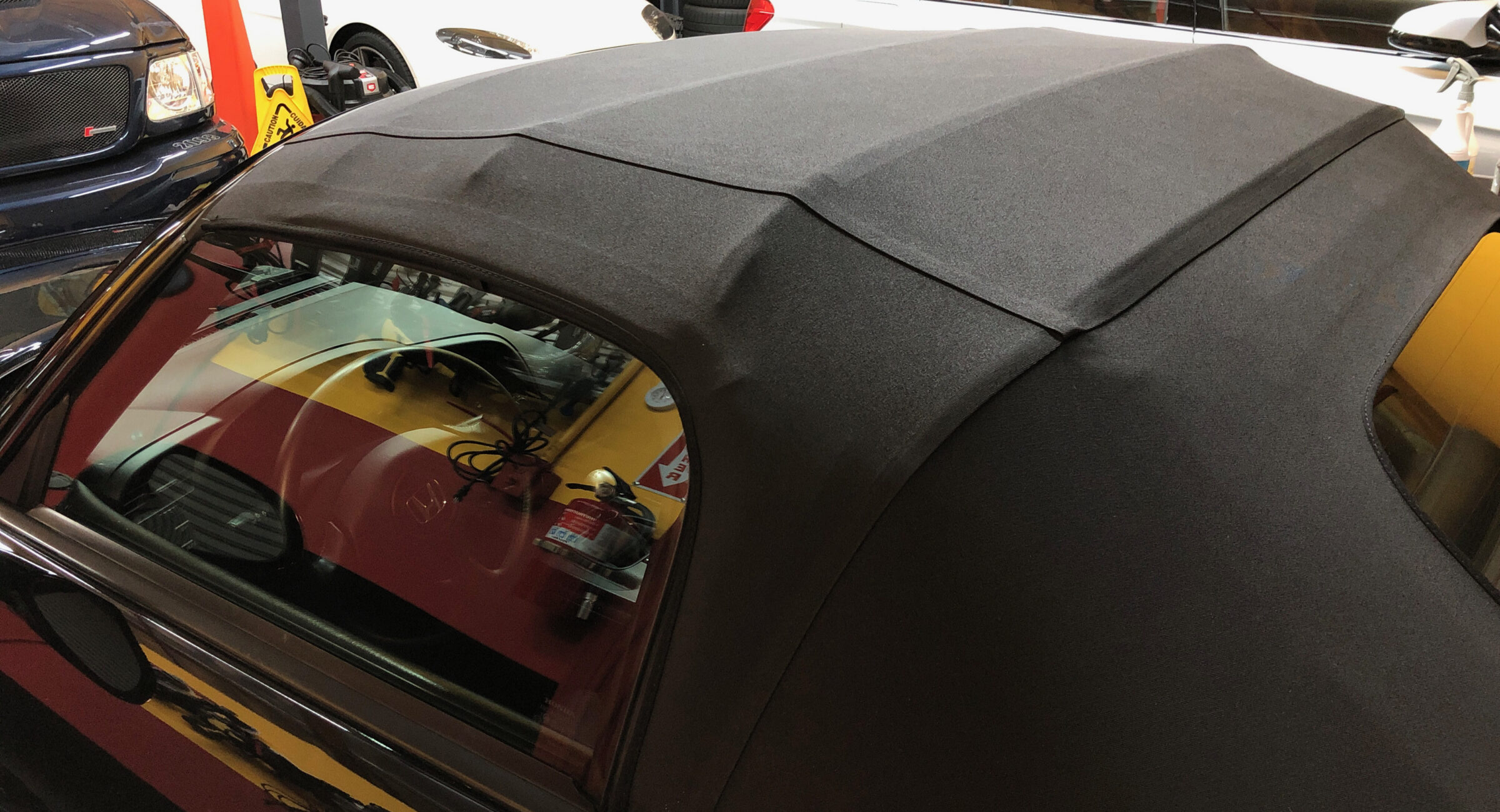 convertible top cleaning