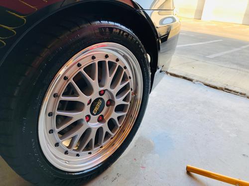 wheel restoration on BBS LM