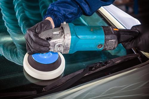 car glass polishing