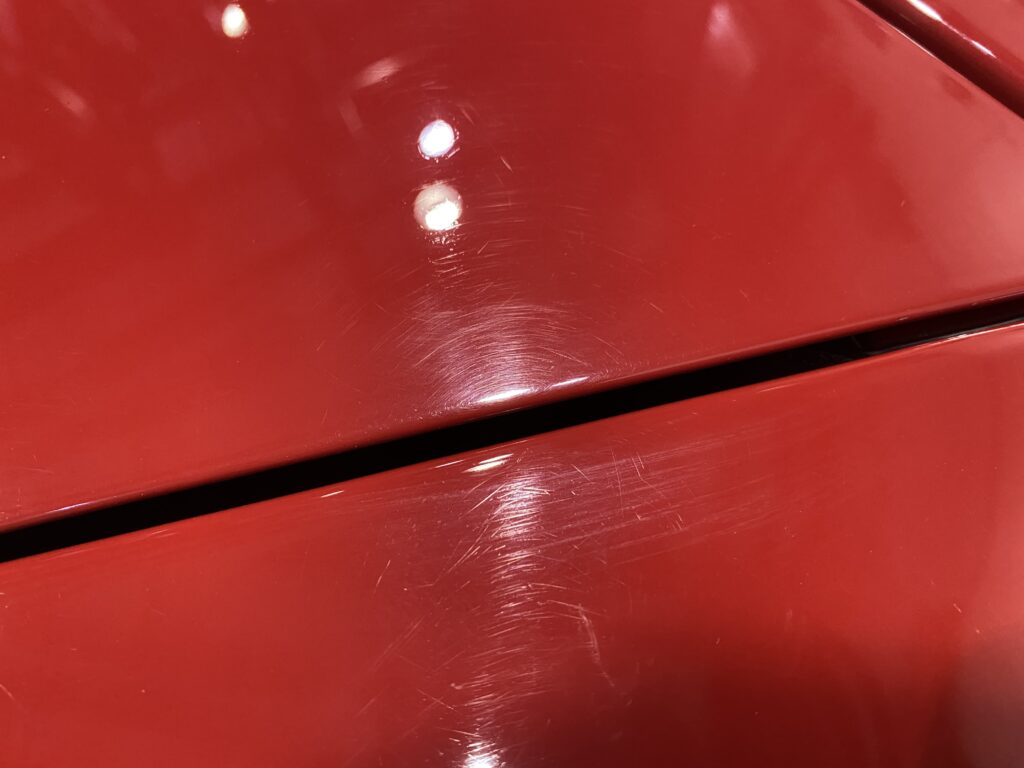 Paint Condition Prior to Paint Correction