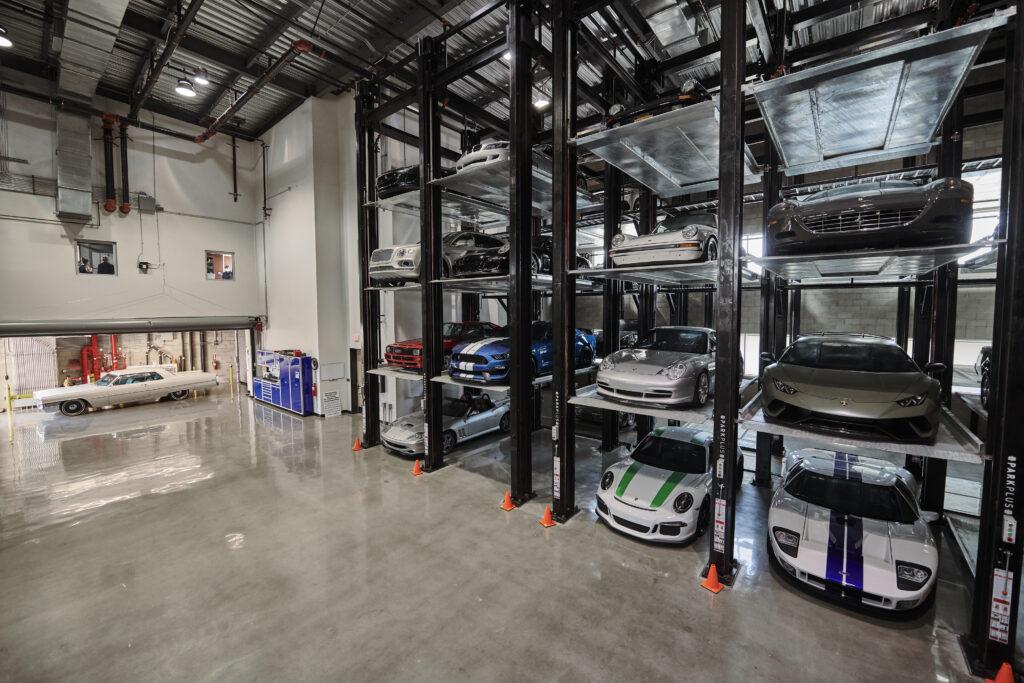 Westside Collector Car Storage Cathedral Room