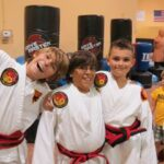 three karate kids