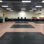 Dojo kick bag wall