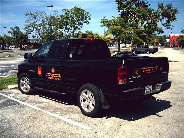 dojo exterior truck