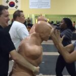Women's self defense clinic
