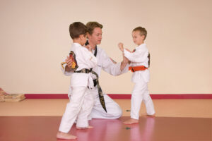 Sensei Reed teaching