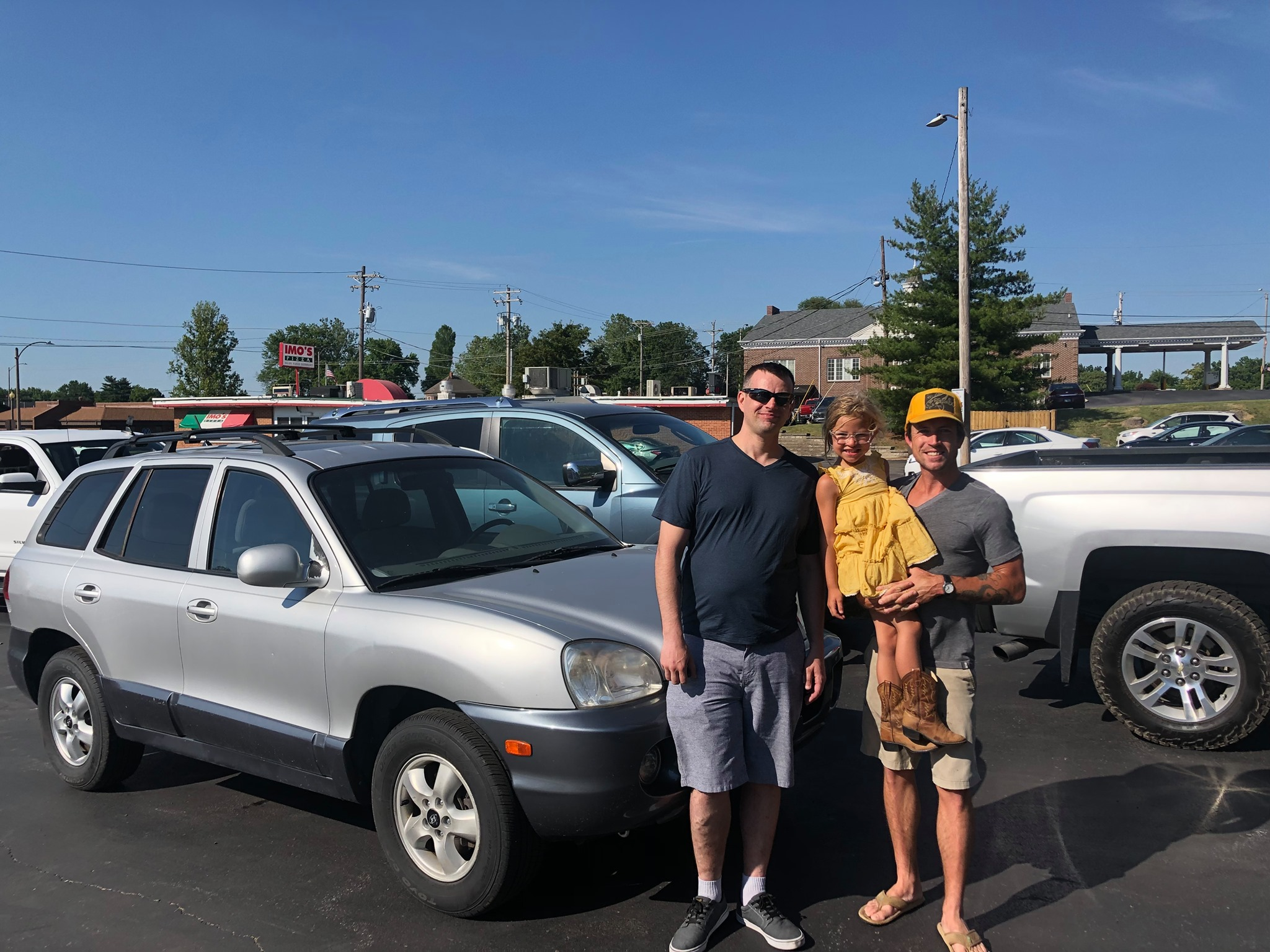 Veteran gets a local, donated vehicle for family!